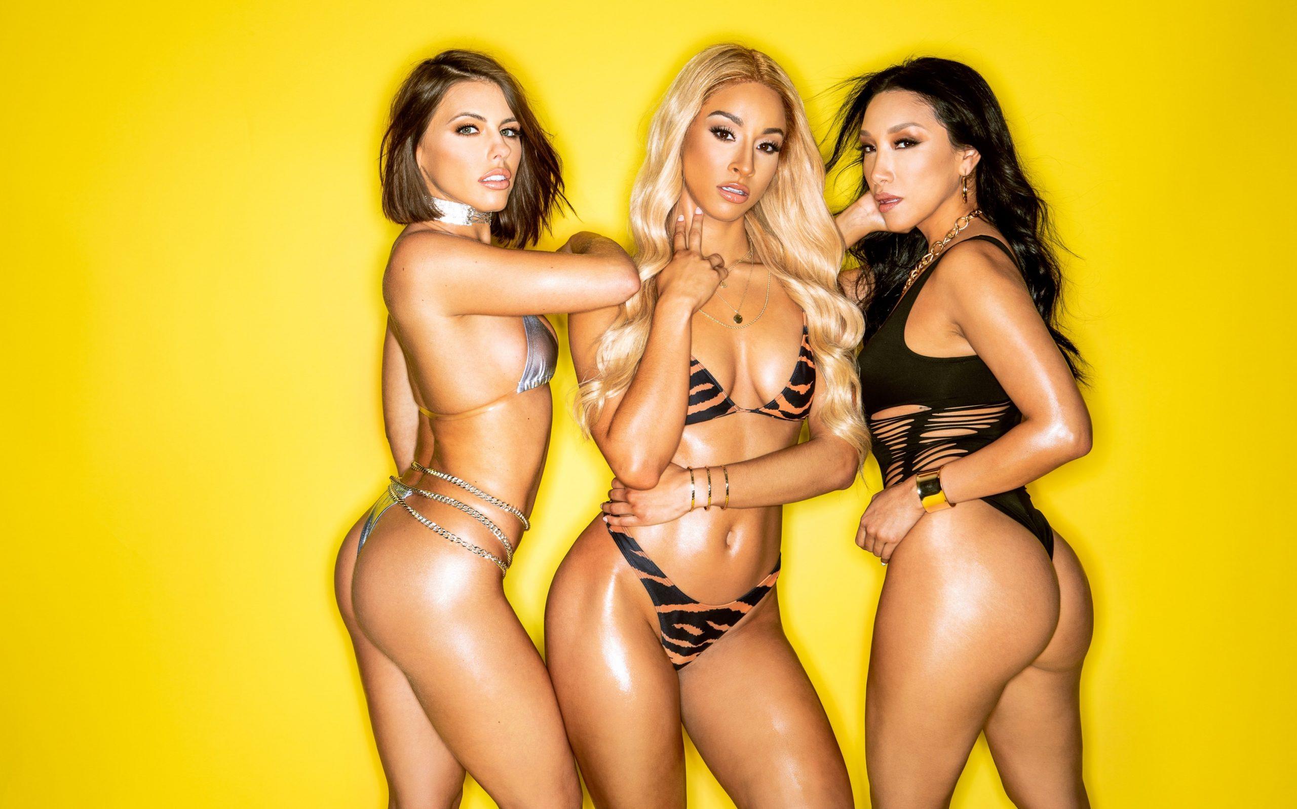 Teanna, Vicki & Adriana Chechik